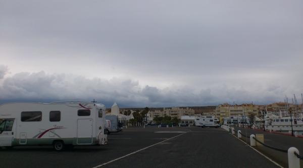 Almerimar, camperplaats